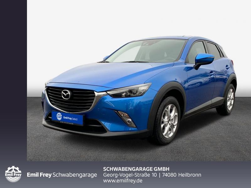 Mazda CX-3 SKYACTIV-D 105 FWD Exclusive-Line, Jahr 2017, Diesel