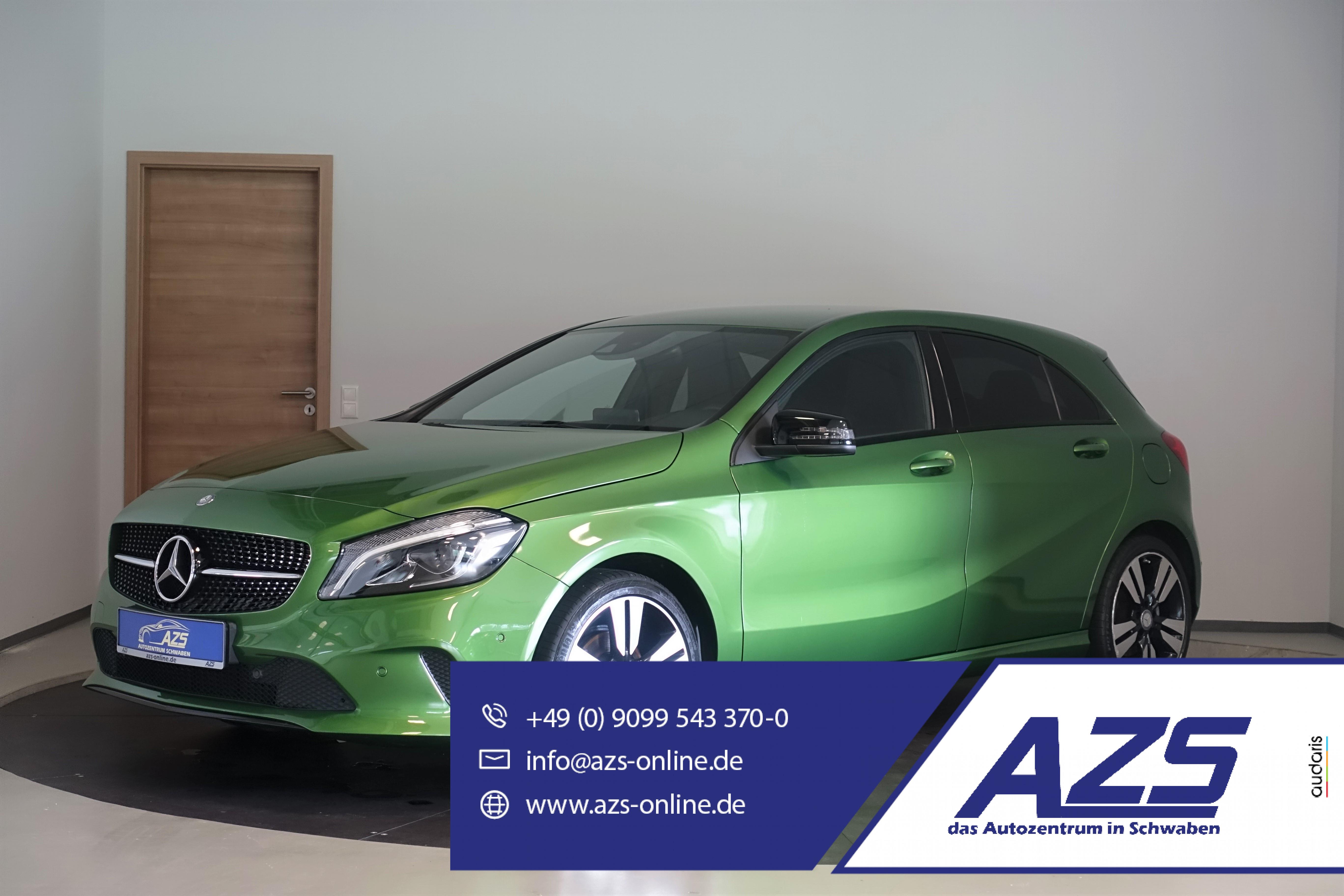 Mercedes-Benz A 180 Urban   Navi   Full-LED   Kamera   AHK  , Jahr 2016, Benzin