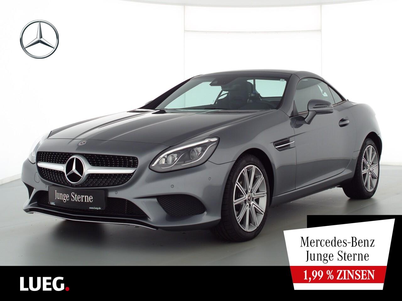 Mercedes-Benz SLC 300 COM+PanoV+LED-ILS+Mem+AIRSCARF+SpurP+RFK, Jahr 2020, Benzin