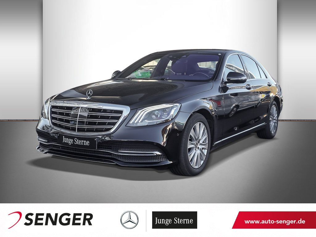 Mercedes-Benz S 560 4MATIC+AIRMATIC+360KAMERA+BURMESTER+MEMORY, Jahr 2017, Benzin