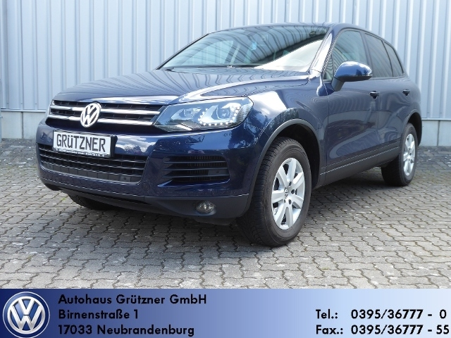 Volkswagen Touareg 3.0 V6 TDI BMT Radi, Navi, WP, AHK, elet, Jahr 2012, Diesel