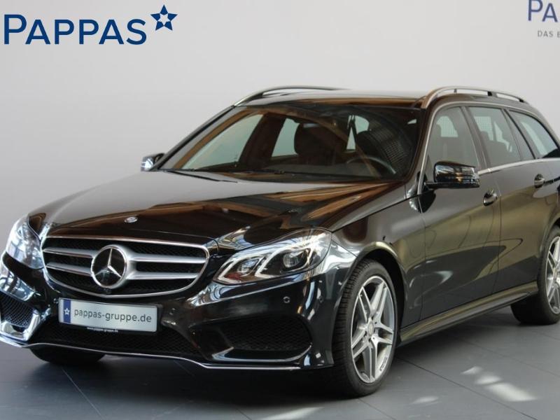Mercedes-Benz E 400 T 4MATIC AMG+Avantgarde+Sitzklima+Fond-tv, Jahr 2013, Benzin