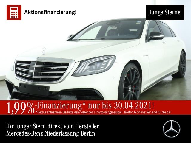 Mercedes-Benz S 63 AMG 4M+ Lang MagicSky/23P/FahrAssP/EXKLUSIV, Jahr 2019, Benzin