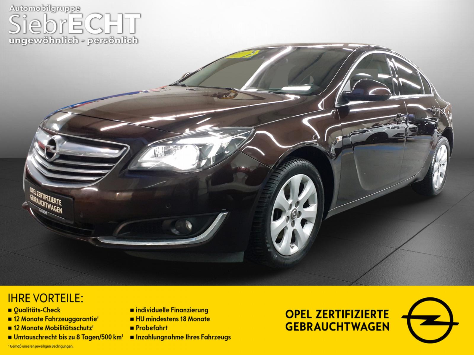 Opel Insignia A Innovation 1.6 SIDI Turbo*Navi*PDC, Jahr 2014, Benzin