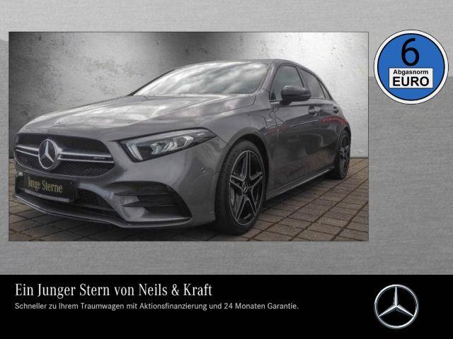 Mercedes-Benz A 35 AMG 4M PANO+NIGHT+KAMERA+AUGMENTED+CAR PLAY, Jahr 2019, Benzin