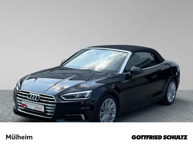 Audi A5 Cabrio 2.0 TFSI S-tronic VIRTUAL NAVI TEMP MUFU KEYLESS, Jahr 2018, Benzin
