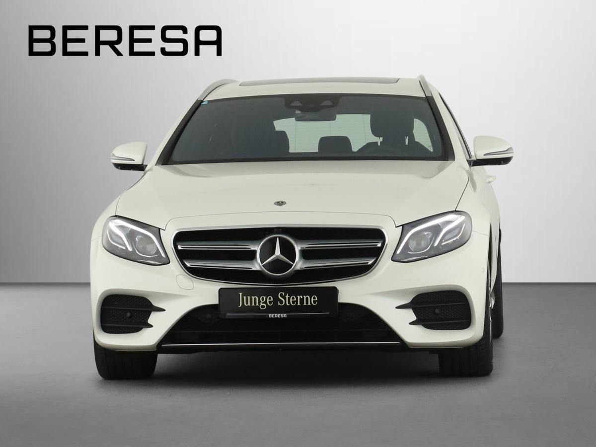 Mercedes-Benz E 450 4M T AMG Wide AHK Distronic SHD Burmester, Jahr 2020, Benzin