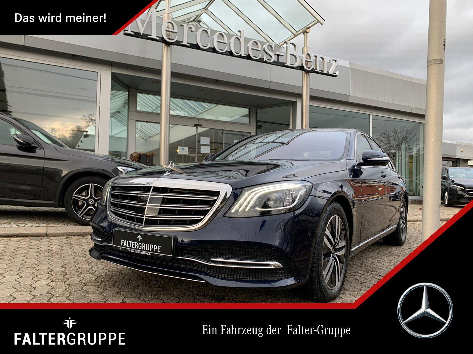 Mercedes-Benz S 500 DISTRO Massage TV Burme MLED Memo Sitzklim, Jahr 2017, Benzin