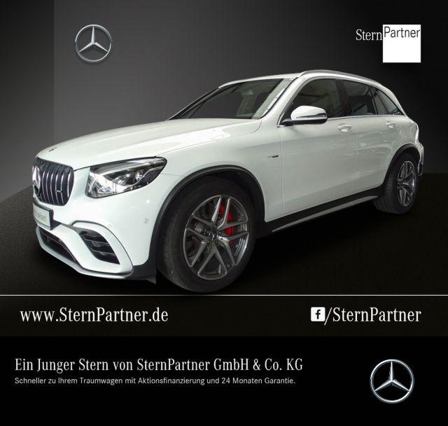 Mercedes-Benz GLC 63 S 4MATIC+ AMG Driver's Pack, AHK, LED, Jahr 2018, petrol