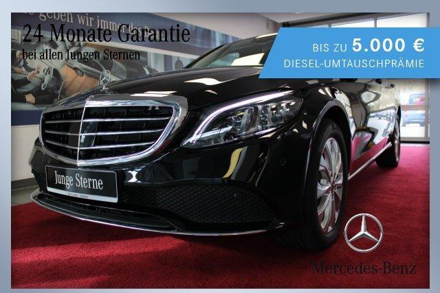 Mercedes-Benz C 180 AVANTGARDE Interieur+EXCLUSIVE Exterieur, Jahr 2019, Benzin