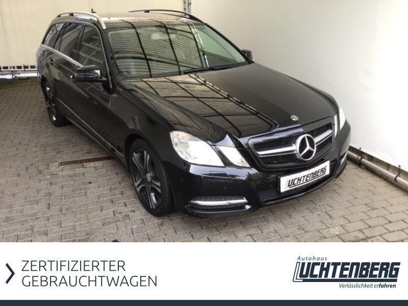 Mercedes-Benz E 200 CDI AVANTGARDE NAVI AHK PDC TEIL-LEDER GARANTIE, Jahr 2012, Diesel