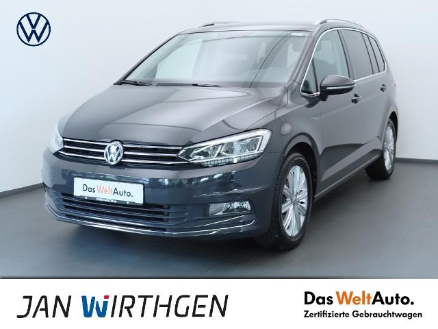 Volkswagen Touran 1.8 TSI DSG Highline Navi AHZV LED PDC, Jahr 2017, Benzin