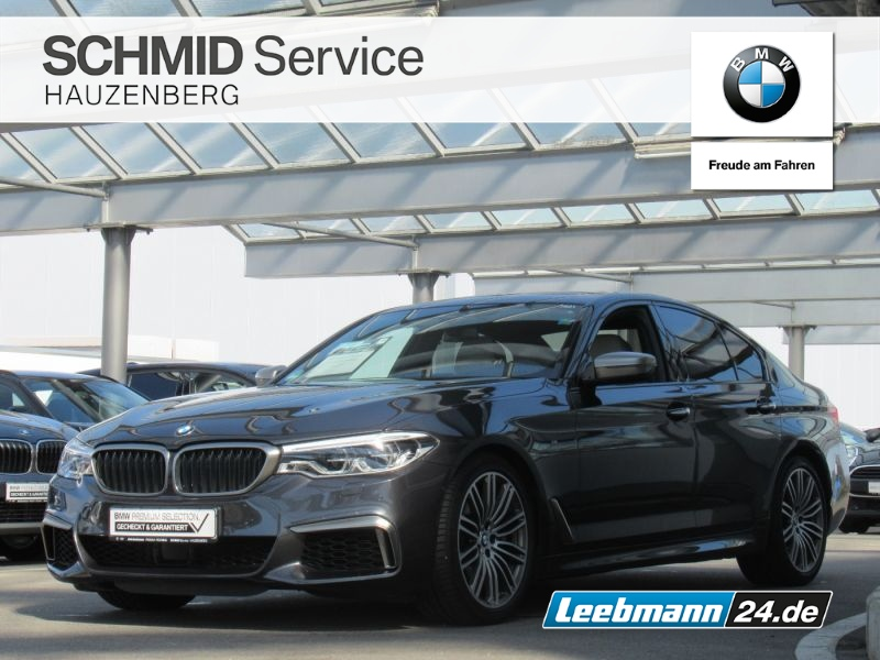 BMW M550i xDrive Lim. DA+/HK-HIFI 2 JAHRE GARANTIE!, Jahr 2017, Benzin