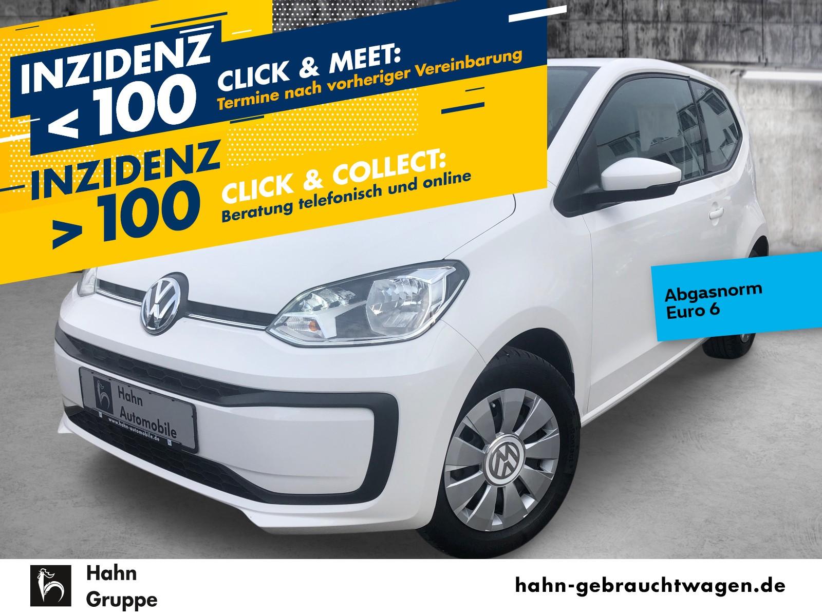 Volkswagen up! move up! 1.0 Klima Bluetooth el.Fenster, Jahr 2017, Benzin