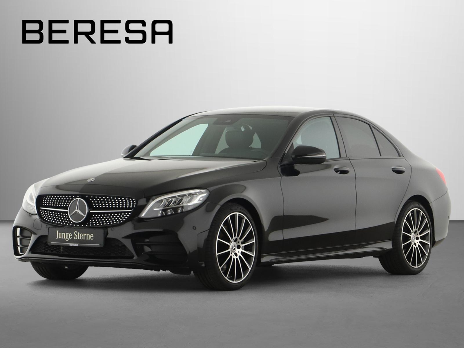 Mercedes-Benz C 180 AMG Spur-P. Night LED Kamera Navi PDC, Jahr 2020, Benzin