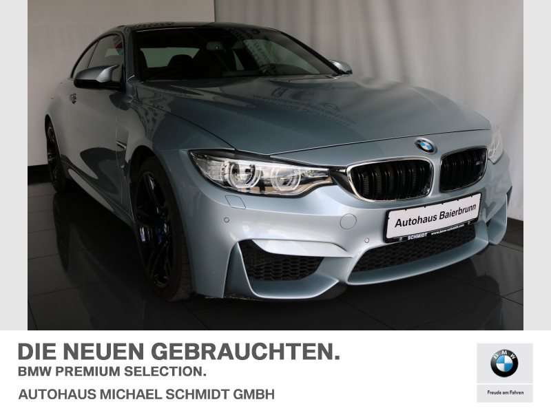 BMW M4 Coupé MEMORY+HEAD UP+LEDER+LED+, Jahr 2017, Benzin