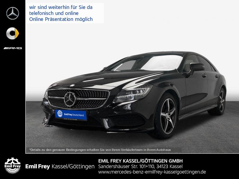 Mercedes-Benz CLS 350 d 4M AMG+Night+COMAND+Distro+Schbd+360°, Jahr 2016, Diesel