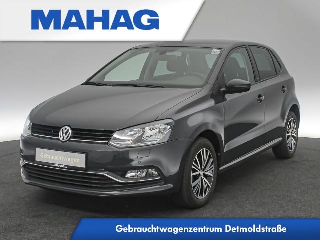 Volkswagen Polo 1.2 TSI Allstar Navi Sitzhz. ParkPilot 15Zoll 5-gang, Jahr 2016, Benzin