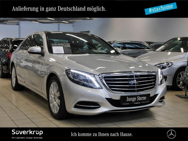 Mercedes-Benz S 400 4M PANO+MEMORY+SITZKLIMA+DISTRONIC+360-KAM, Jahr 2016, Benzin