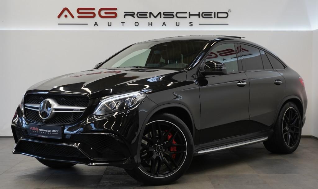 Mercedes-Benz GLE 63 AMG S 4M *100% Voll *Standhz *Sport-AGA *, Jahr 2017, Benzin