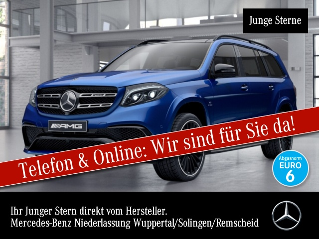 Mercedes-Benz GLS 63 AMG 4M B&O Driversp Perf-Lenk Active Curve, Jahr 2018, Benzin