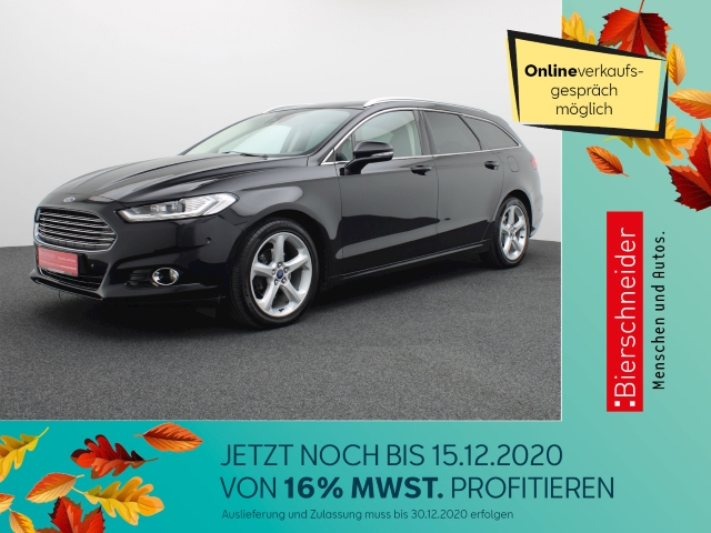 Ford Mondeo 2.0 TDCi Buisness Edition PANORAMA WP ISOFIX, Jahr 2015, Diesel