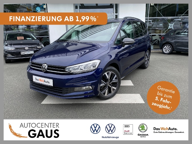 Volkswagen Touran Highline 1.5 TSI LED Klima ACC, Jahr 2020, Benzin