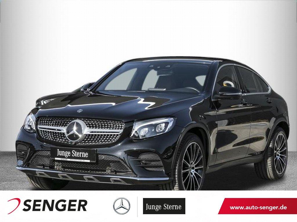 Mercedes-Benz GLC 300 4M Coupé *AMG*Comand*360°*Distronic*LED*, Jahr 2017, Benzin