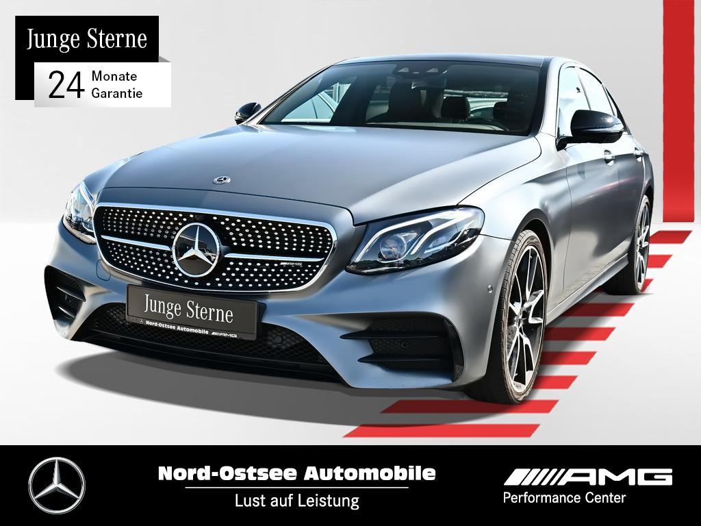 Mercedes-Benz E 43 AMG 4M COMAND Multibeam Night HUD Pano Keyl, Jahr 2017, Benzin