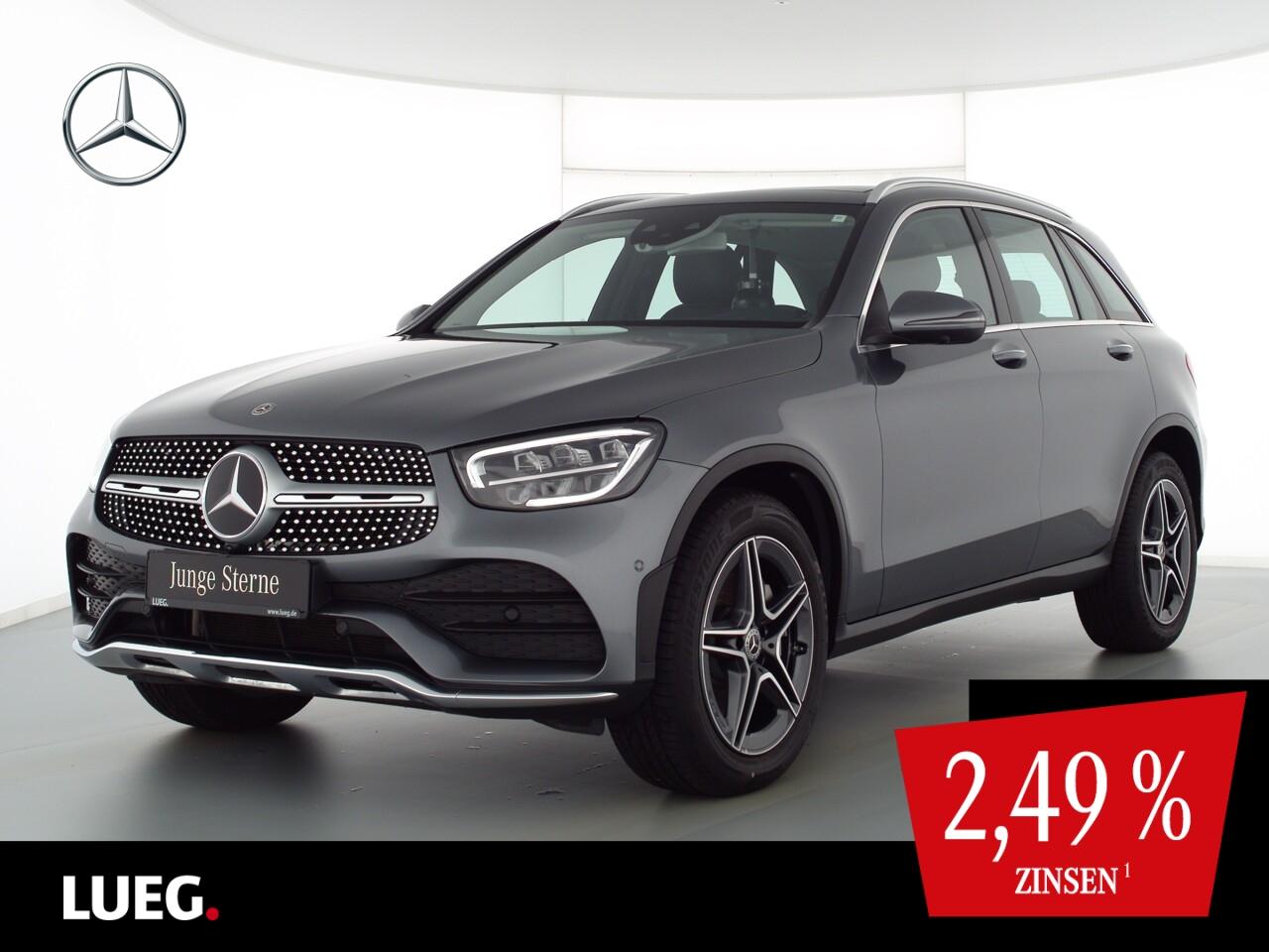 Mercedes-Benz GLC 220 d 4M AMG+MBUX+Pano+Burm+LED+19''+AHK+360, Jahr 2020, Diesel