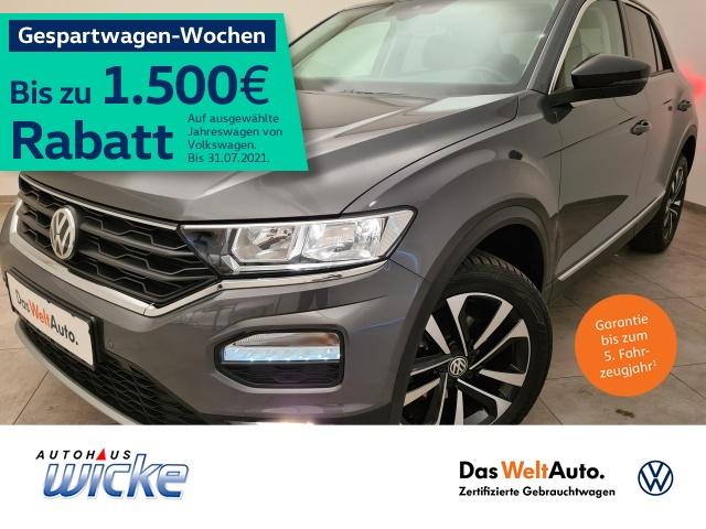 Volkswagen T-ROC 1.5 TSI United Klima Navi PDC DAB Sitzhg, Jahr 2020, Benzin