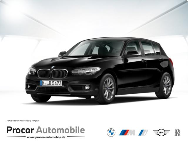 BMW 116d Advantage Navi PDC vo+hi SHZ, Jahr 2017, Diesel