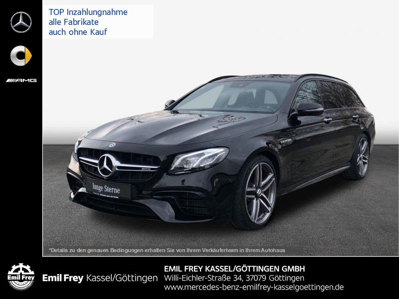 Mercedes-Benz E 63 AMG S 4M+ T/Wide/PANO/PerfAbg/PerfSitz/Night/HFi, Jahr 2017, Benzin