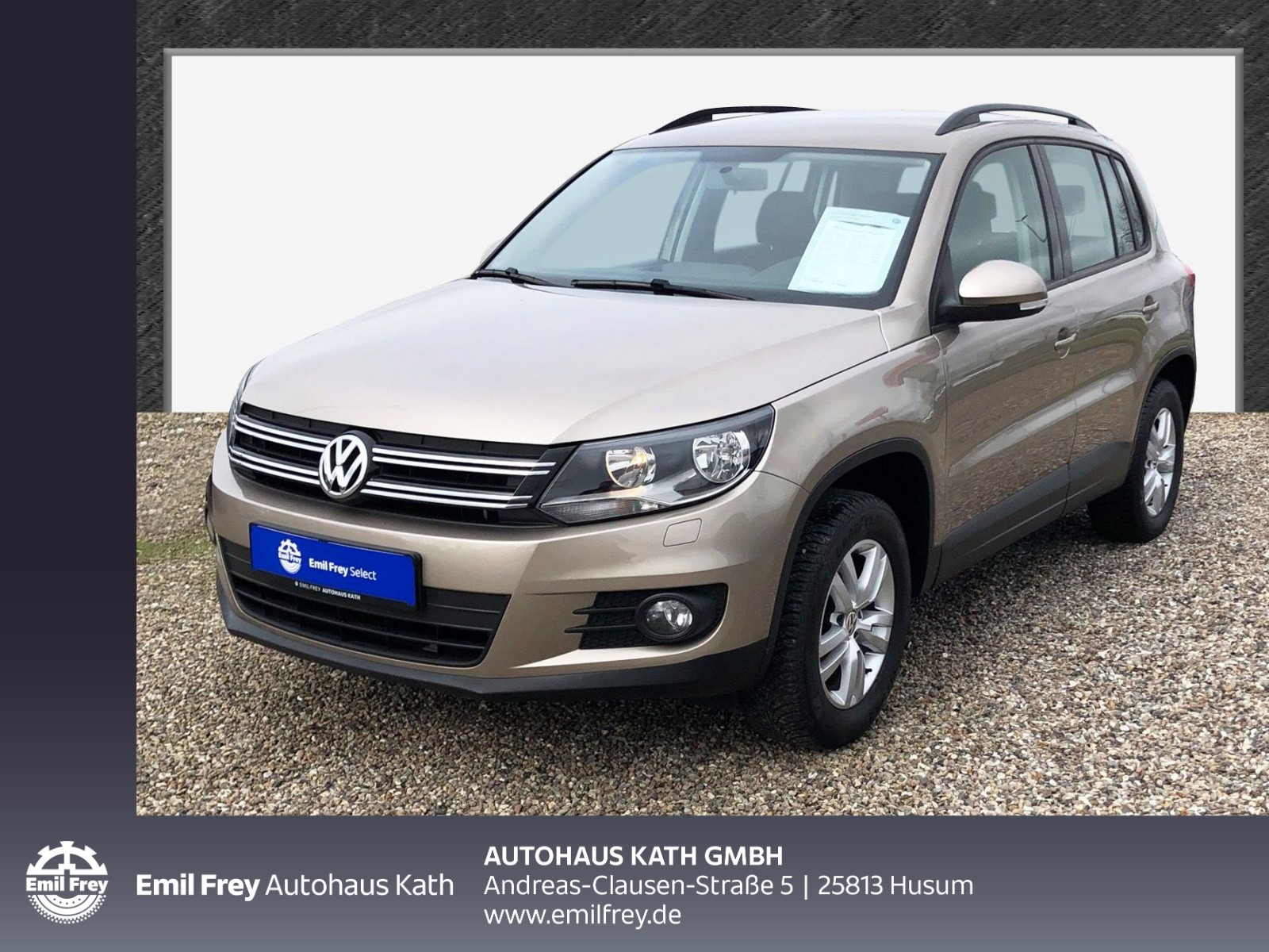 Volkswagen Tiguan Trend & Fun AHK,PDC,SHZ,NSW,GJR, Jahr 2014, Benzin