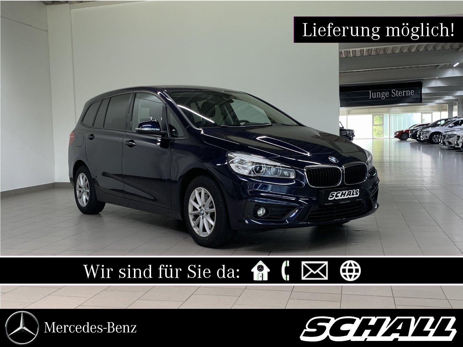BMW 218i ADVANTAGE LED+NAVIGATION+PARK DISTANCE CONT, Jahr 2015, Benzin
