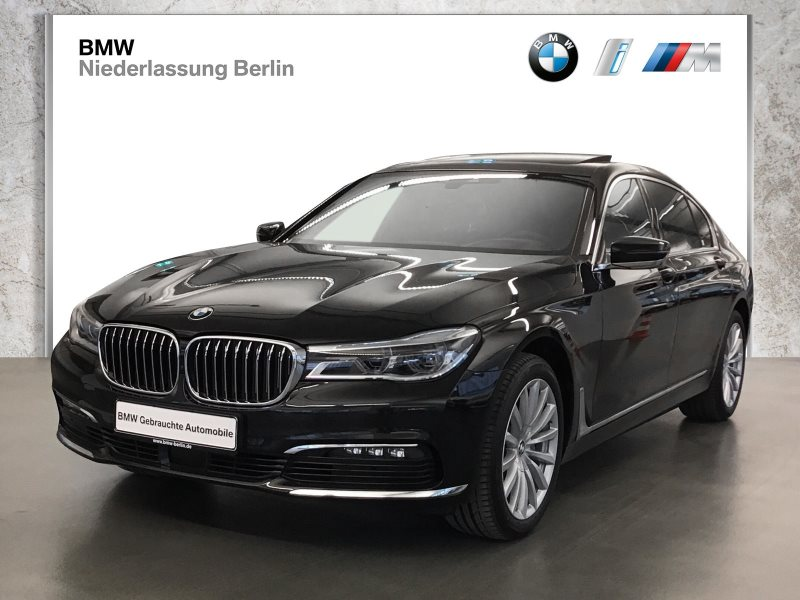 BMW 740d Ld xDrive EU6 Laser Komfortsitze Sky Lounge, Jahr 2018, Diesel