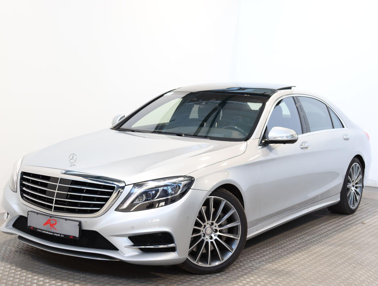 Mercedes-Benz S 500 4M LANG AMG LINE EXKLUSIV FOND-TV,HEADUP, Jahr 2014, Benzin