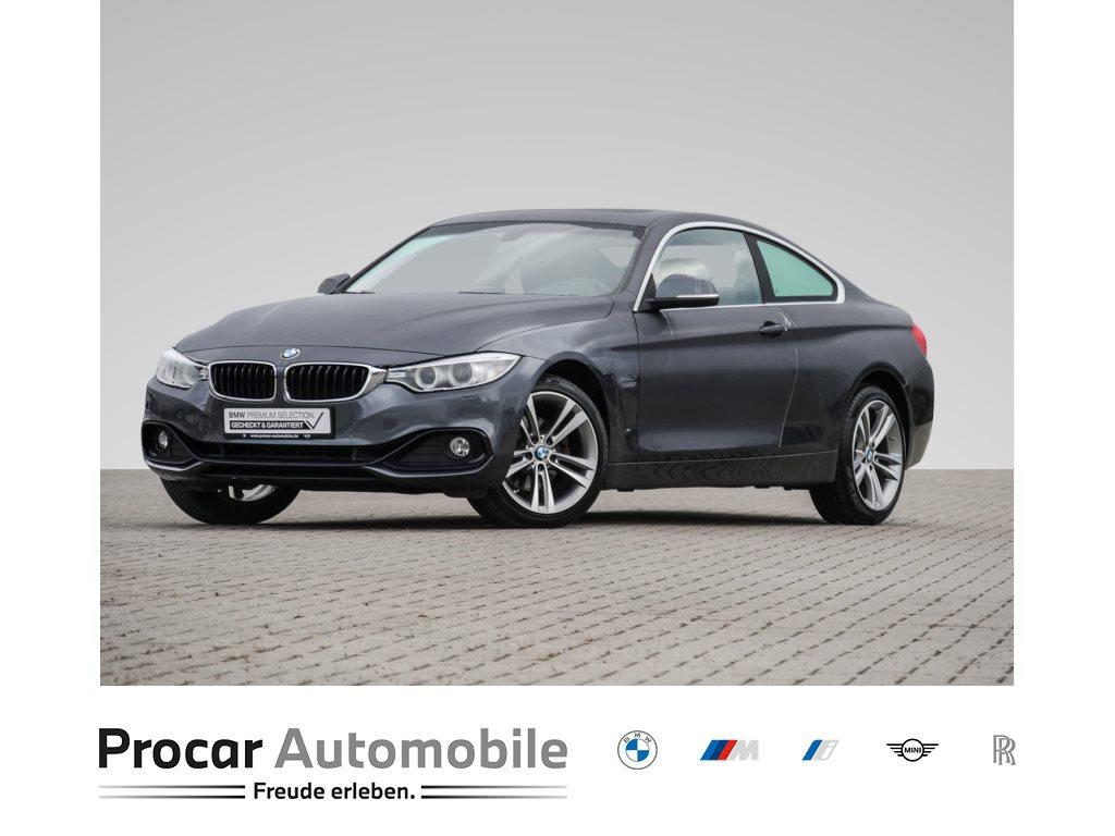 BMW 430i xDrive A Sport Line, Jahr 2017, Benzin