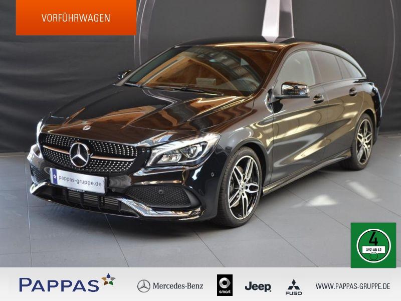Mercedes-Benz CLA 220 Shooting Brake 4MATIC AMG+Night+LED, Jahr 2018, Benzin