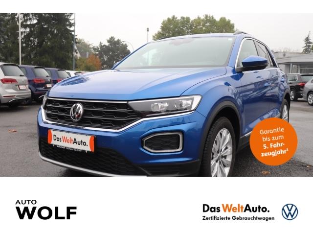 Volkswagen T-Roc 1.5 TSI ACT Sport LED Navi StandHZG ACC Fernlichtass. AHK-abnehmbar El. Heckklappe, Jahr 2019, Benzin