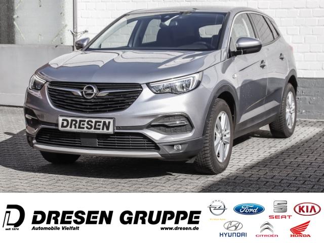 Opel Grandland X Dynamic 1.2 Turbo+Sitz/Lenkradheizung+Klimaautomatik, Jahr 2017, Benzin