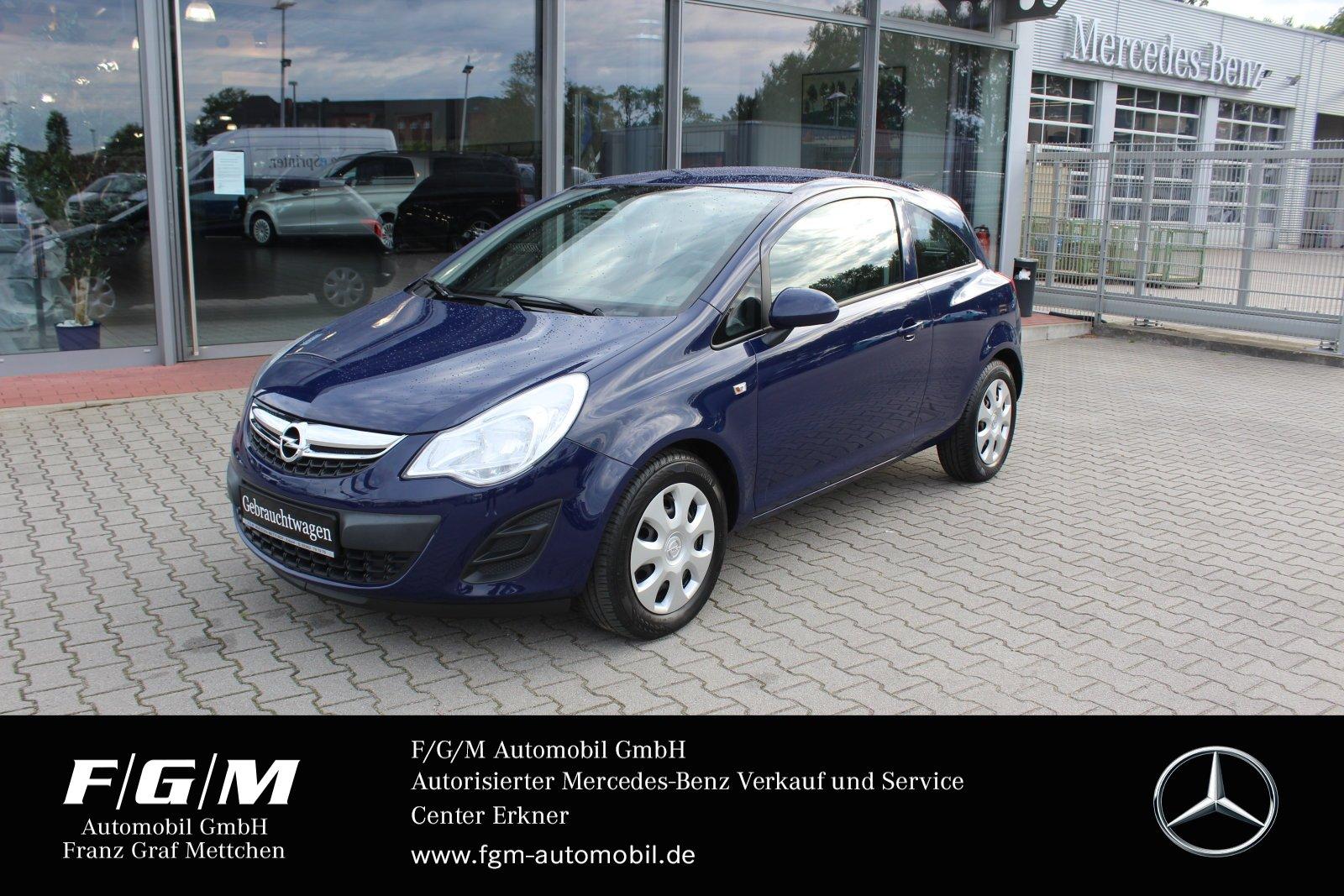Opel Corsa D 1.2 Edition Klima/Chrompaket/R-CD, Jahr 2014, Benzin