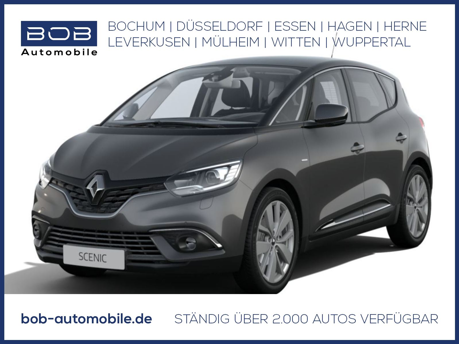 Renault Scenic LIMITED Deluxe TCe 140 GPF NAVI SHZ PDC, Jahr 2021, Benzin