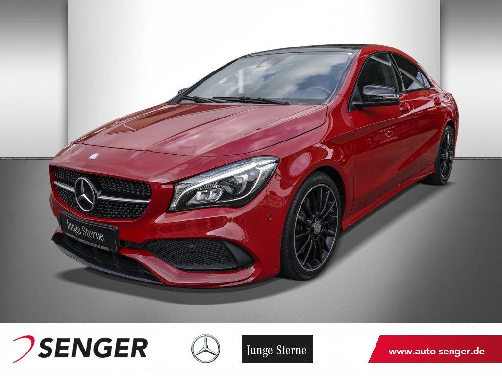 Mercedes-Benz CLA 250 COUPÉ AMG-LINE+PANO-SHD+KAMERA+NIGHT-PAK, Jahr 2016, Benzin