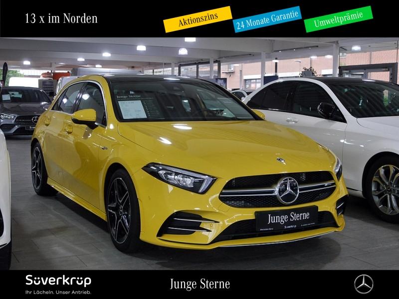 Mercedes-Benz AMG A 35 4M Designo/Pano.-Dach/LED/PDC, Jahr 2020, Benzin