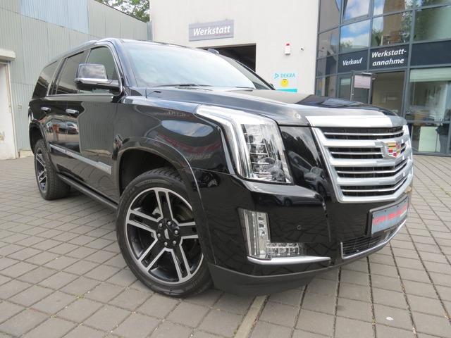 Cadillac Escalade 6,2 V8 Platinum eTRITT/HEAD/REAR/dt FZG, Jahr 2017, Benzin