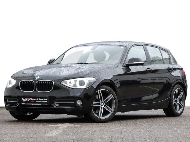 BMW 125 d Sport-Aut.8G SportLine Bi-Xenon M-Technic Comfort Paket Keyless, Jahr 2012, diesel
