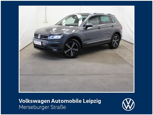 Volkswagen Tiguan 2.0 TDI BMT Sound 4M*ACC*DSG*LED*DAB+*, Jahr 2018, Diesel