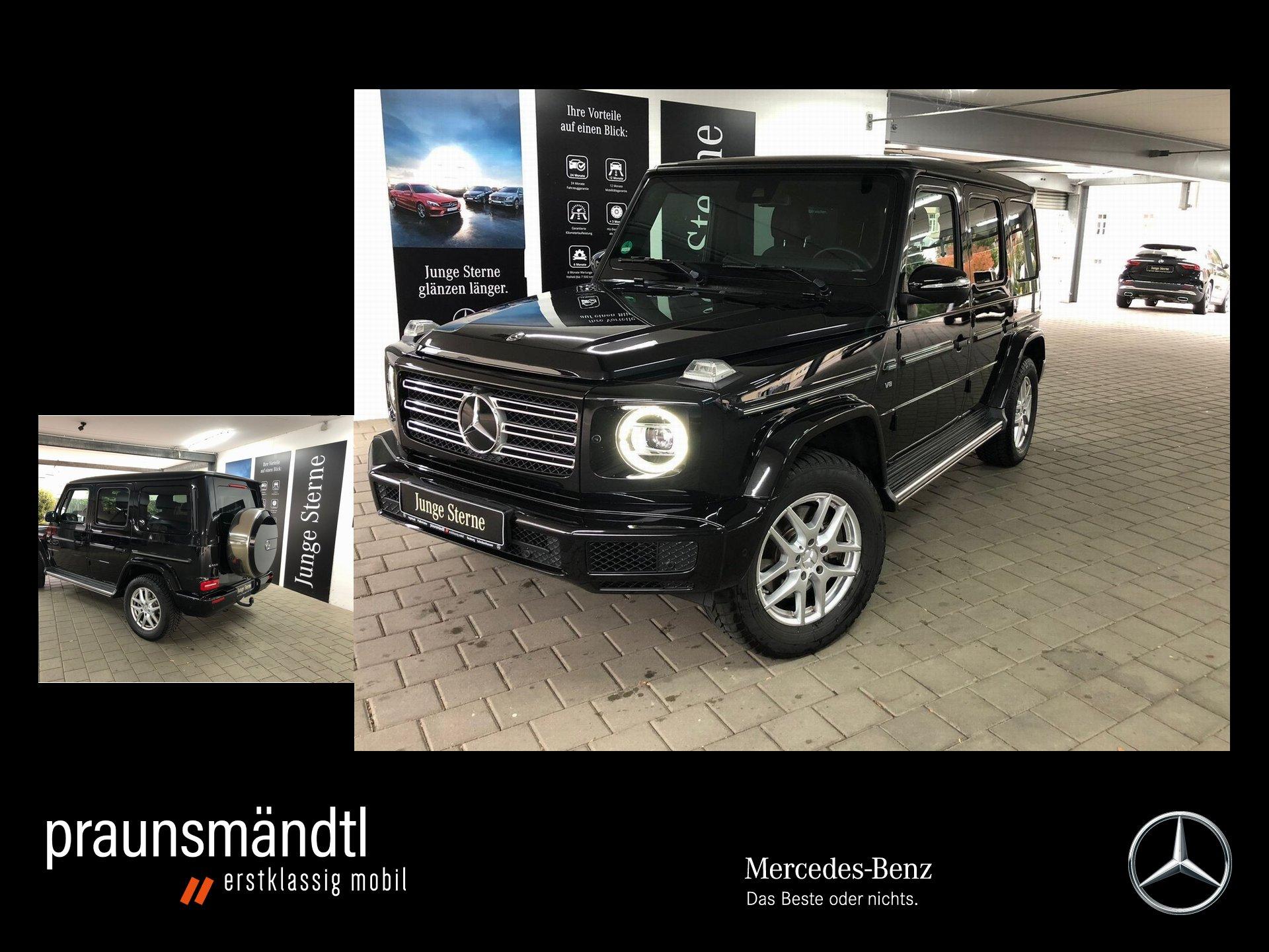 Mercedes-Benz G 500 AHK/StaHzg/Schiebe/360/Sound/Widesc/Distro, Jahr 2018, Benzin