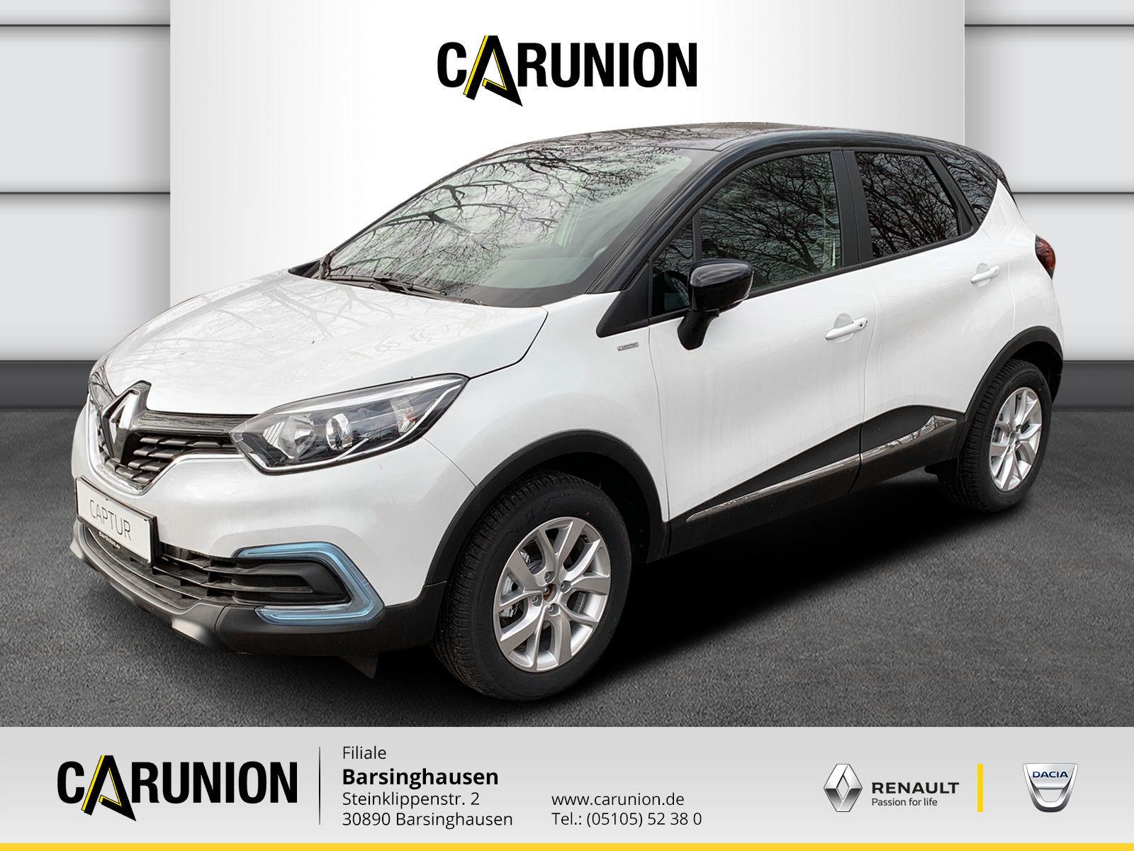 Renault Captur LIMITED TCe 130 GPF, Jahr 2019, Benzin